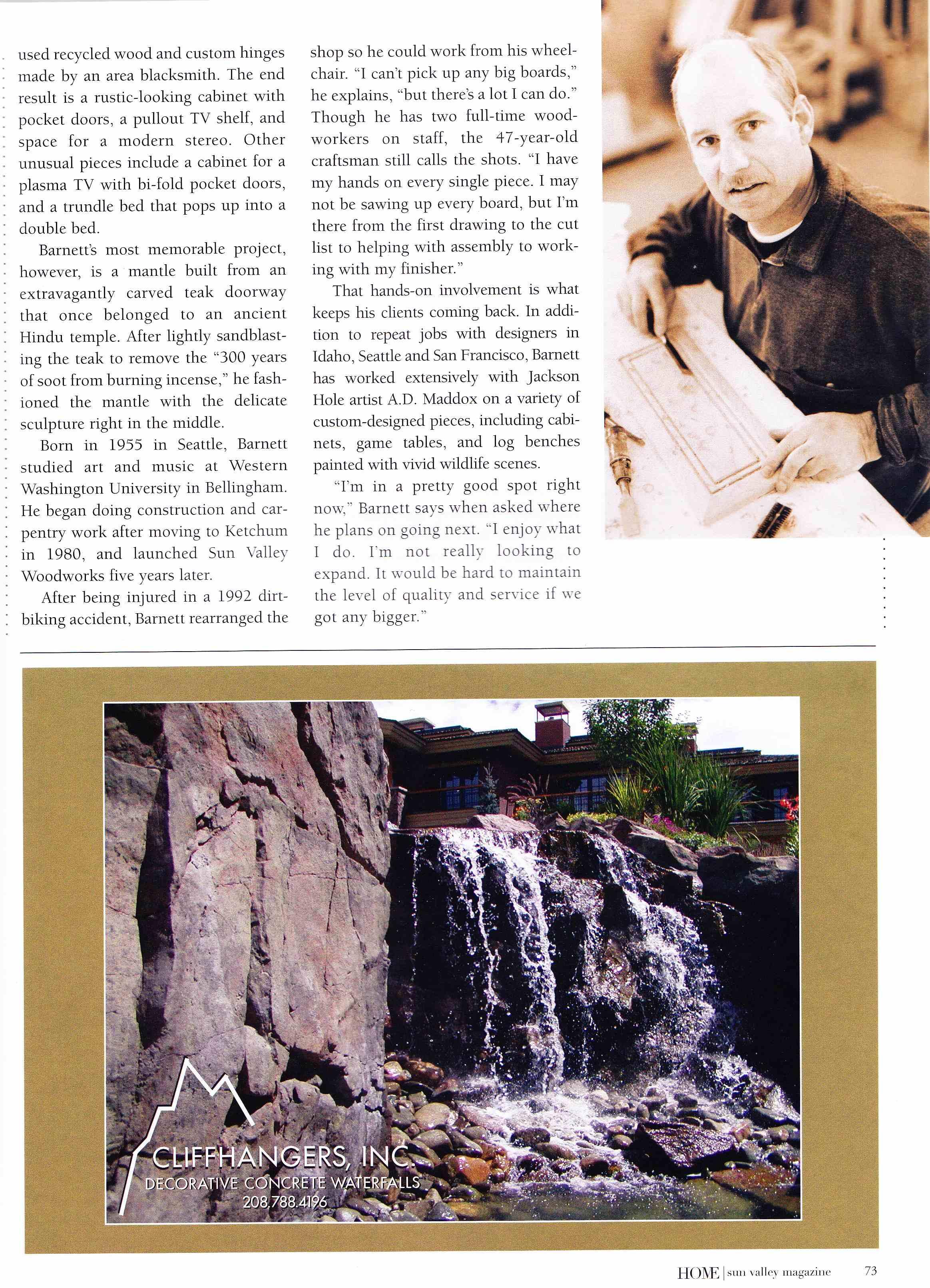 SV Magazine, third page