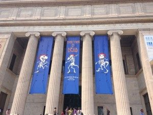 Even the prestigious Field Museum got into the spirit of the weekend